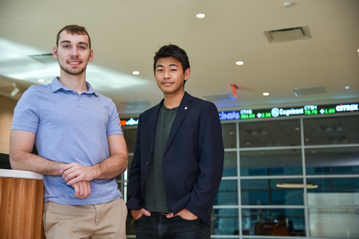 Nebraska Business Students Place Top 10 in Global E-Trading Challenge