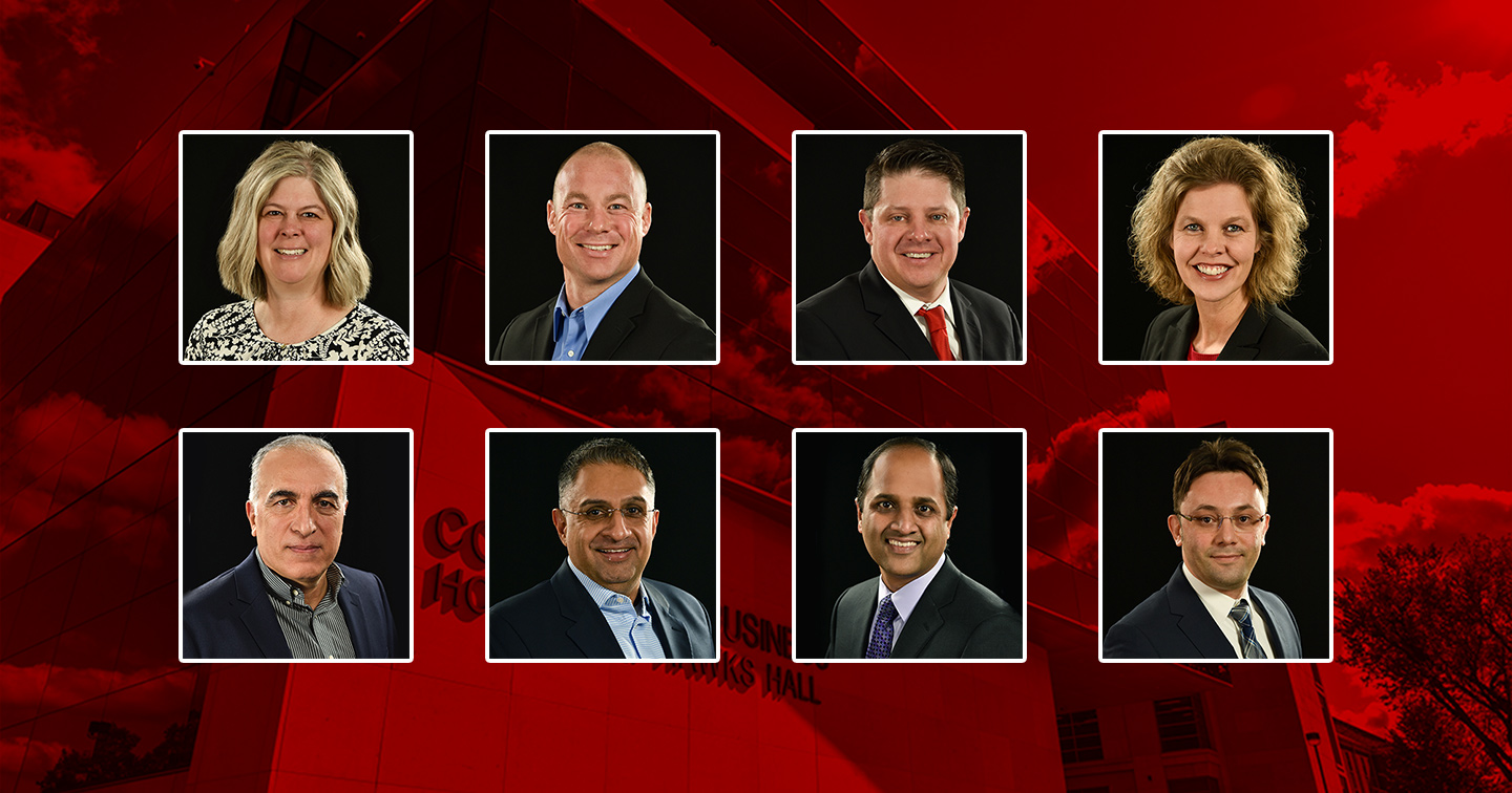 College of Business Promotes Eight Faculty
