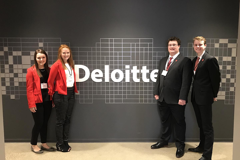 Huskers Capture Regional Deloitte FanTAXtic Competition