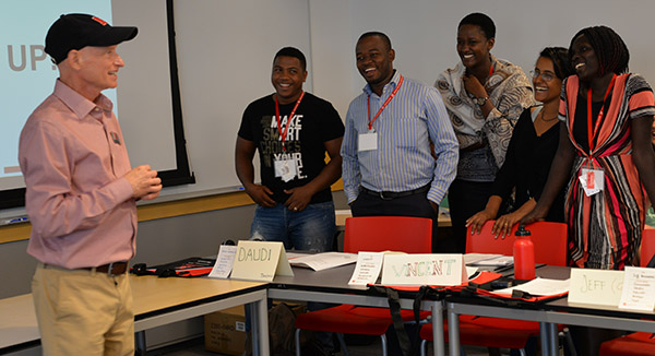 African Fellows Build Connections in Business at Nebraska