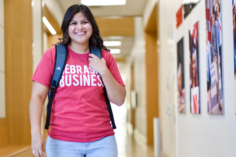 First Gen Student Finds Success at Nebraska