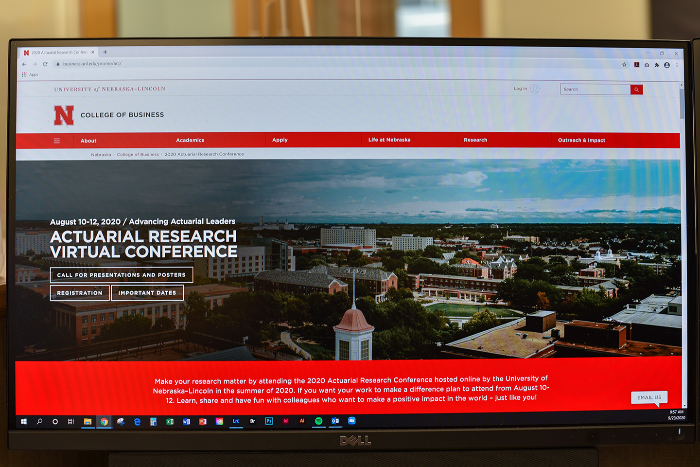 Nebraska Hosts Record-Breaking Actuarial Research Conference
