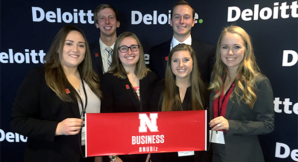 Accounting Students Win Deloitte's Regional Audit Competition