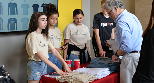 Future Builders Set to Launch T-shirt Business June 27