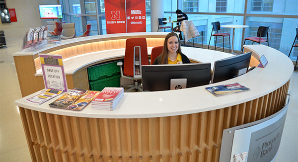 Emily Bergen Heads the New Welcome Center