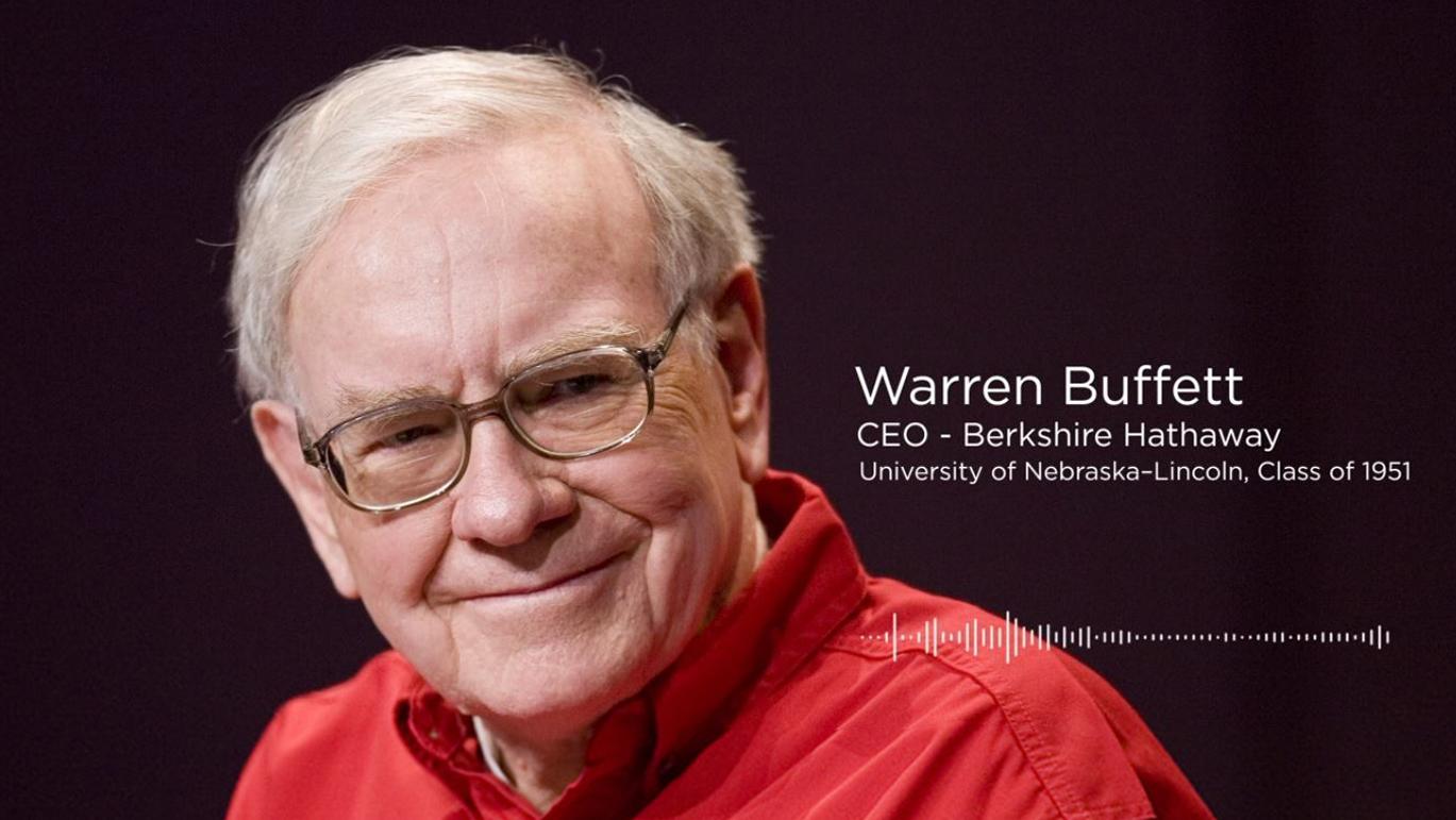 Warren Buffett Shares Excitement of Go Big Grad