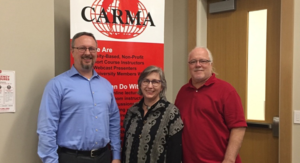 Lambert and Beal Featured Webcast Speakers for CARMA