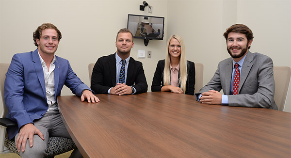 Chapin Scholars Praise Opportunities at Center for Sales Excellence