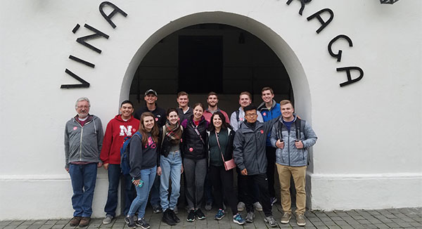 Students Explore Exports, Innovation in Chile