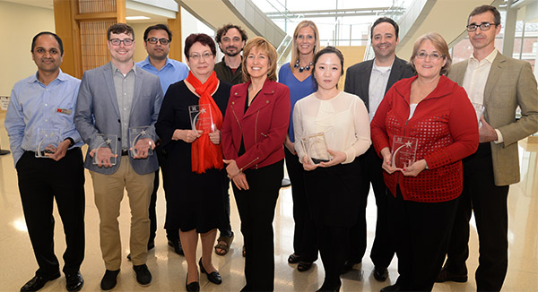 Faculty and Staff Awards Promote Accomplishments