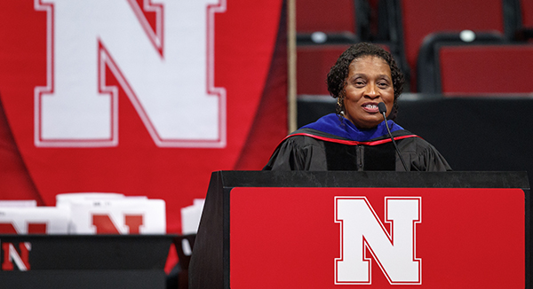 Message of Promise Delivered by Dr. Gwen Combs at Commencement
