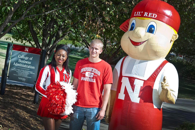 Edwards Cultivates Spirit as Cheerleader, Finance Graduate