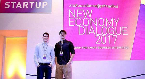 Business Student Presents at Smart Startup 2017 in Thailand
