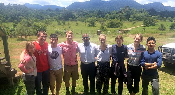 Business Students Present Ecotourism Development Plan in Guyana