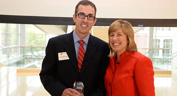 Heacock Receives Young Alumni Award
