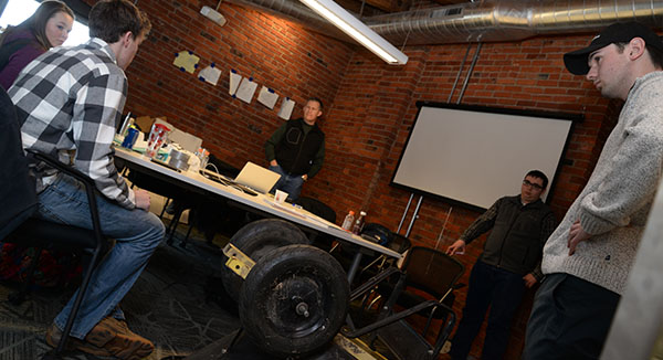 Hofeling Broadens Perspective at Lincoln Startup Weekend