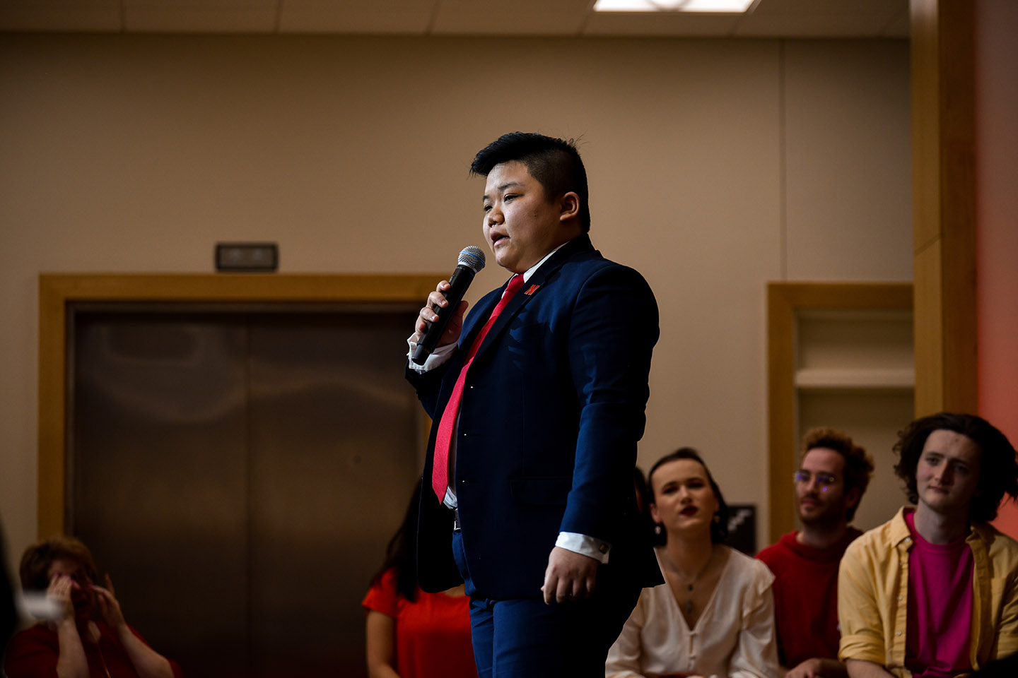 Nguyen Takes the Stage for Transgender People