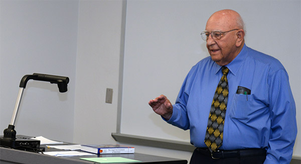 Former U.S. Attorney Lahners Wraps Up 50 Years of Teaching