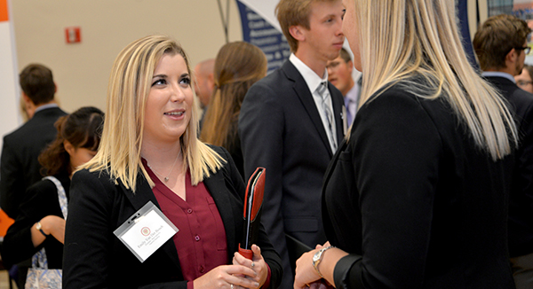Students Connect with Potential Employers at Meet the Firms