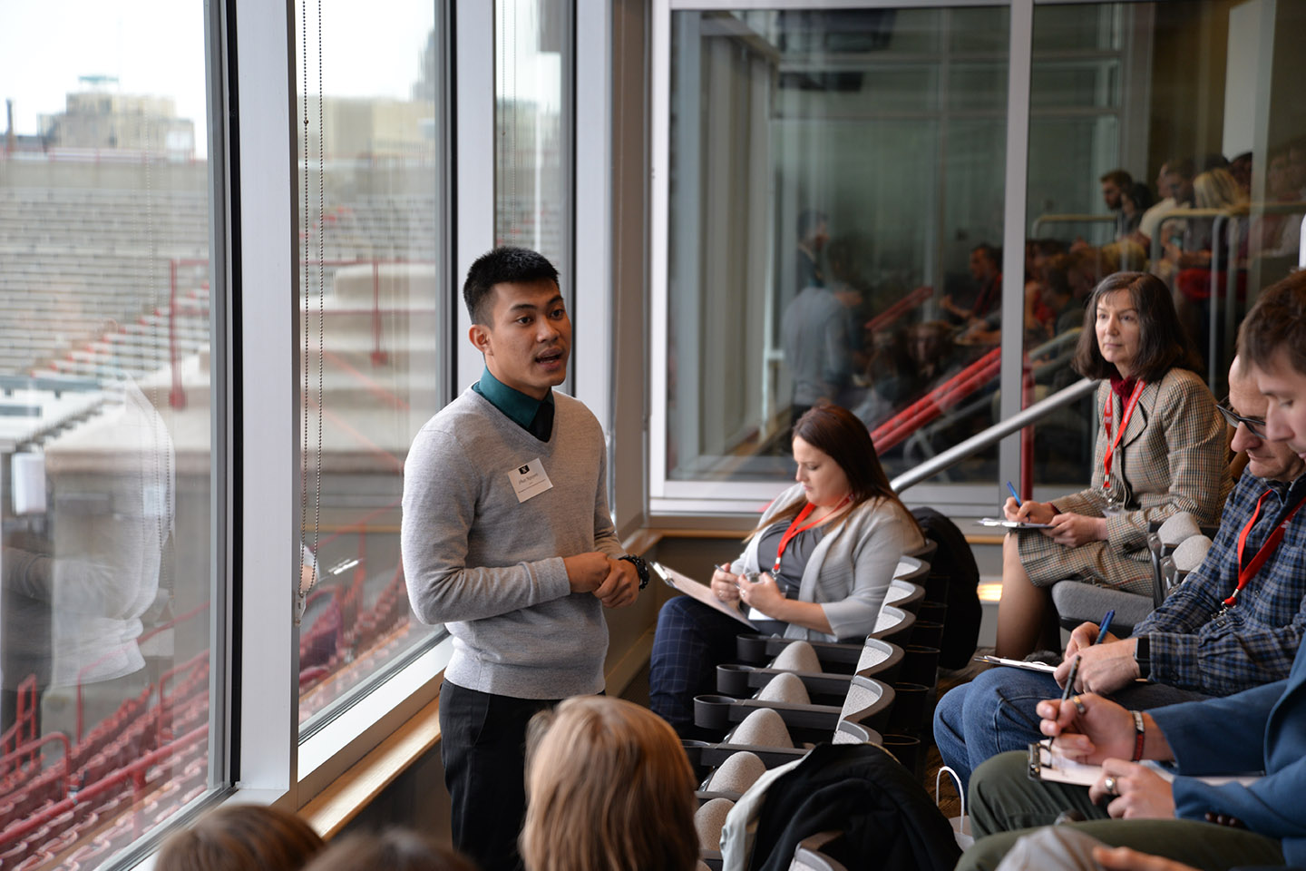Nguyen Uses Strengths in Commitment to Help Others