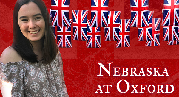Reagan Scott Blog: Nebraska at Oxford