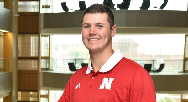 Reimers Embodies What it Means to Be a Husker