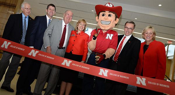 Howard L. Hawks Hall Opens for Business at Nebraska