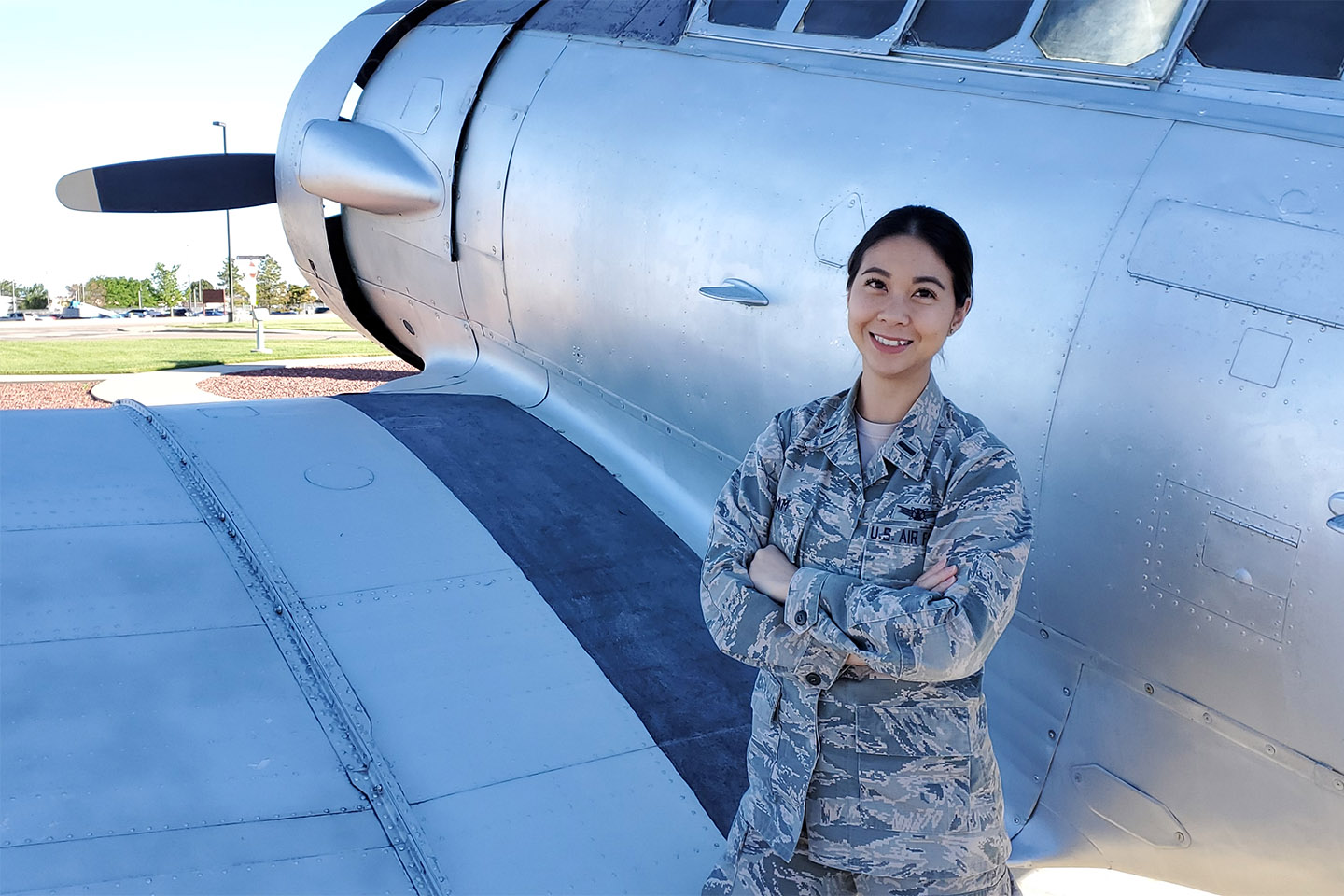 Pham Tackles MBA@Nebraska While Serving in U.S. Space Force