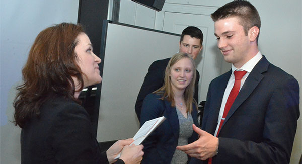 Union Pacific Executives Lead Case Competition