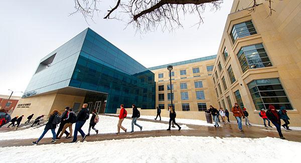 College of Business Huskers Enjoy Winter Break