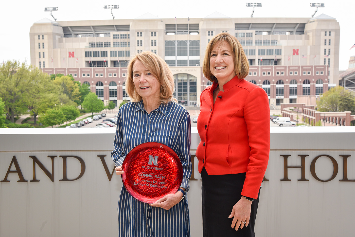 Connie Rath Awarded Honorary Doctorate