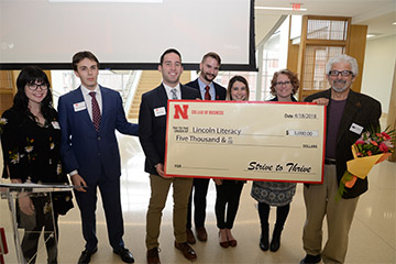 $10,000 Awarded Through Strive to Thrive Lincoln