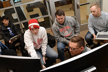 Hutchinson Digs Data Stories in Actuarial Science Capstone Course