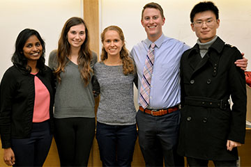 Students Learn Skills in Actuarial Science Case Competition
