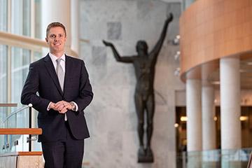 Buechel Transforms Mayo Career Through MBA@Nebraska