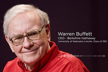 Warren Buffett Shares Excitement of Go Big Grad