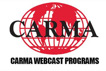 CARMA Webcasts Resume September 28