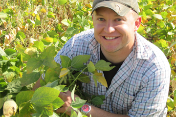 Agribusiness Grad Devin Lovgren Excelled at Steward Seed Lab Internship