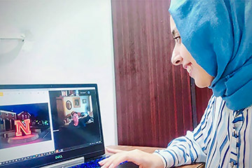 Summer Program Fosters Virtual Exchange Between Nebraska, Egypt