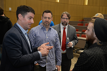 Entrepreneur Panel Provides Blueprint to Business Success for Students