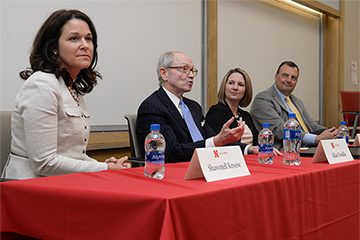 Executive Insights Panelists Look to Leadership for Success