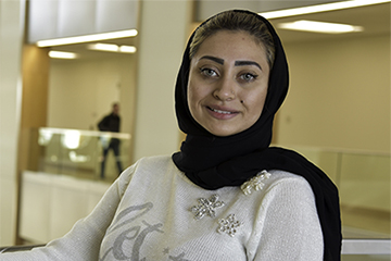 Hawra Mohammed Carves Her Own Path
