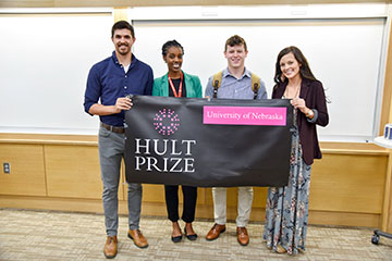 Striving to Make an Impact Through Hult Prize