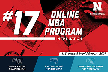 MBA@Nebraska Recognized as Top 20 Program by <em>U.S. News & World Report</em>