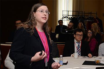 Matthews Represents Nebraska at Mittelstaedt Symposium
