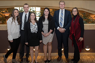 MAIAA and MBA Students Represent Nebraska at National Sports Forum