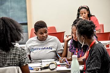 Mandela Washington Fellow Empowered by Leaders Program