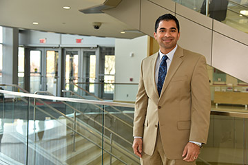 Titus Promises to Start Something at College of Business